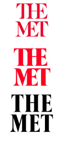 Why the new Metropolitan Museum of Art Logo should be in a museum