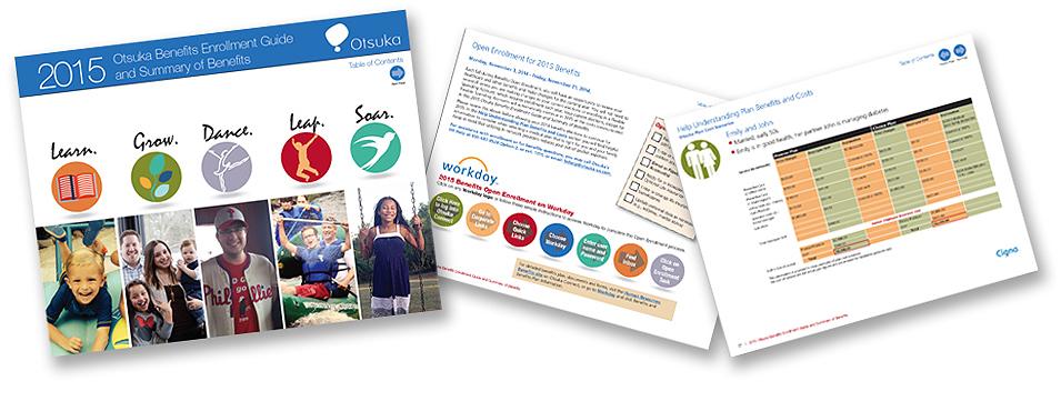 Otsuka open enrollment benefits brochure